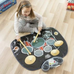 Covoraș muzical tobă InnovaGoods Drum Kit Playmat