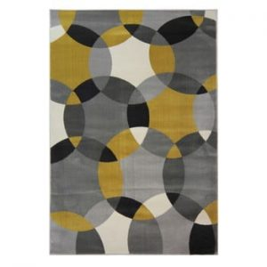 Covor Flair Rugs Cocktail Cosmo Grey Ochre, 120 x 170 cm