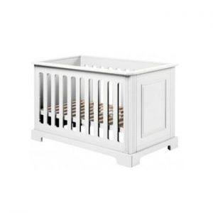 Pătuț pentru copii BELLAMY Ines,60x120cm, alb