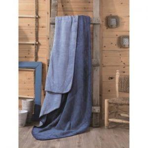 Pătură Lilian, 200 x 220 cm, albastru