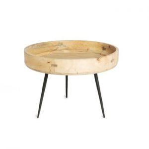 Masă din lemn de mango Simla Hammer, ⌀60cm