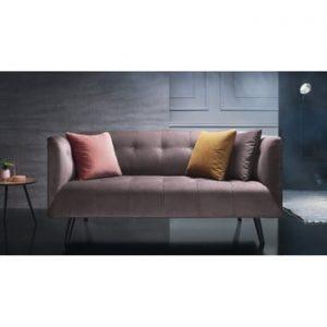 Canapea pentru 3 locuri Bobochic Paris Paris, roz