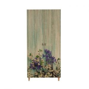 Șifonier din lemn Ursula Flower