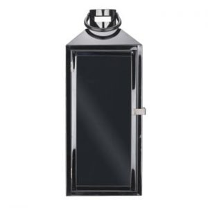 Felinar din metal Villa Collection Black, 44,5 cm, negru