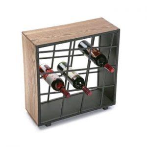 Suport din lemn pentru sticle de vin Versa