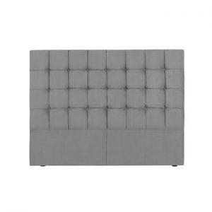 Tăblie pat Kooko Home Hasso, 120 x 160 cm, gri