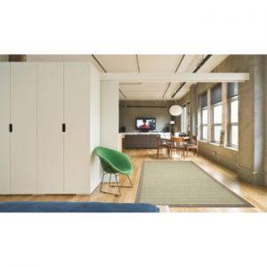 Covor foarte rezistent Floorita Chrome, 135 x 190 cm, verde