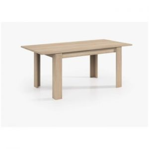 Masă din lemn Evegreen House Smile, 140 x 90 cm