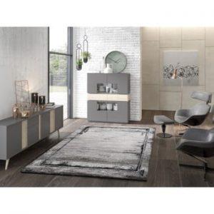 Covor adecvat și pentru exterior Universal Artist Grey, 120 x 170 cm, gri