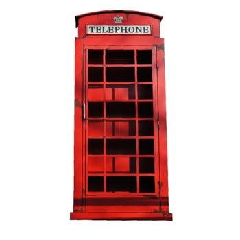Cabină londoneză decorativă Antic Line Cabine Telephonique