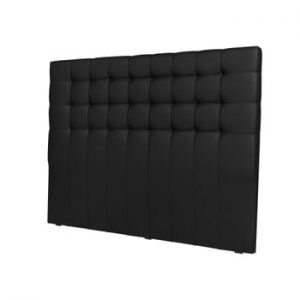 Tăblie pentru pat Windsor & Co Sofas Deimos, 140 x 120 cm, negru