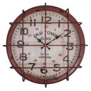 Ceas de perete Antic Line Lattice, ⌀ 47 cm