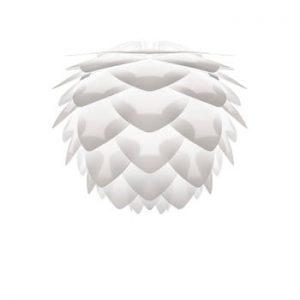 Abajur VITA Copenhagen Silvia, Ø 32 cm, alb