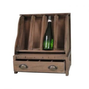 Suport lemn pentru vin Antic Line Wooden