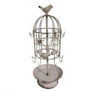 Suport pentru bijuterii Antic Line Cage Birds