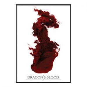 Poster DecoKing Dragons Blood, 50 x 40 cm