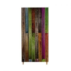 Șifonier din lemn Ursula Rainbow