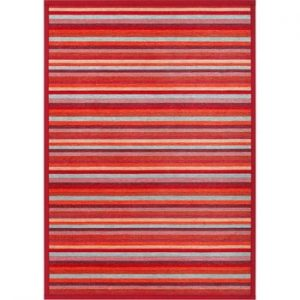 Covor reversibil Narma Liiva Red, 70 x 140 cm, roșu