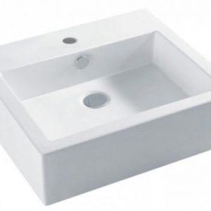 Lavoar pe blat Dalet Cabinet 1 Bowl 52 5x46 cm