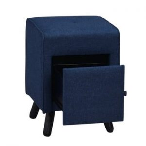 Banchetă cu sertar Folke Scylla, albastru