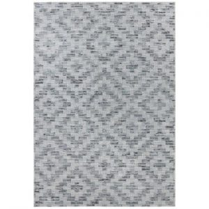 Covor adecvat și pentru exterior Elle Decor Curious Creil, 77 x 150 cm, albastru - gri