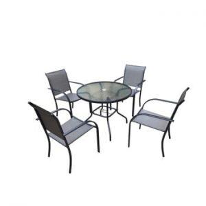 Set mobilier din metal pentru grădină Timpana Milo