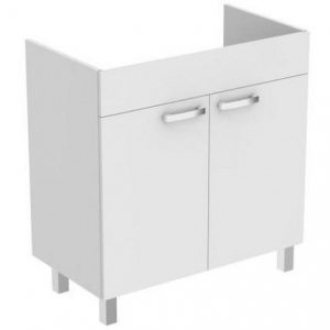 Dulap baza pe pardoseala Ideal Standard Tempo 60 cm alb 2 usi