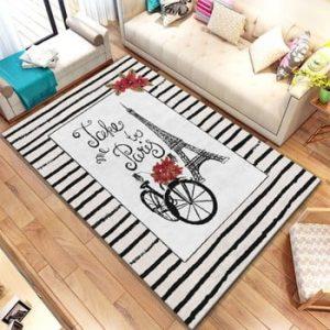 Covor Homefesto Digital Carpets Clarisso, 100 x 140 cm