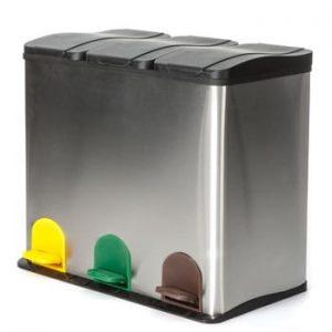 Coș de gunoi Tomasucci Recycle, 60 l