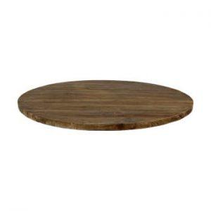Blat pentru masă din lemn de tec HMS collection, ⌀ 150 cm