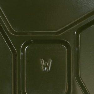 Cutie de cadou în formă de canistră Designed By Man Basic, verde
