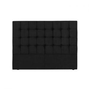 Tăblie pat Kooko Home Hasso, 120 x 200 cm, negru