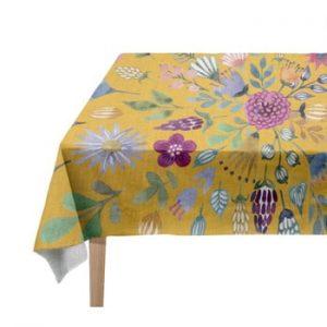 Față de masă Madre Selva Colourful Flowers, 140 x 250 cm
