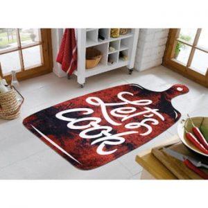 Covor Vitaus Lets Cook Red, 100 x 160 cm