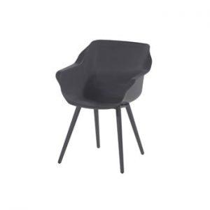 Set 2 scaune pentru grădină Hartman Sophie studio Armchair, gri antracit