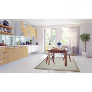 Covor foarte rezistent Floorita Chrome, 135 x 190 cm, turcoaz