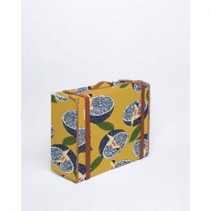 Cutie de depozitare Surdic Valise Blue Orange, 31 x 40 cm