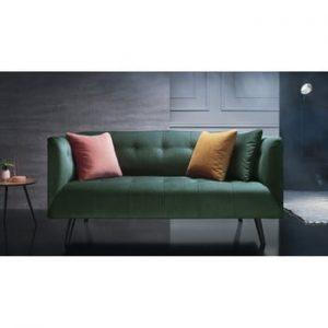Canapea pentru 3 locuri Bobochic Paris Paris, verde