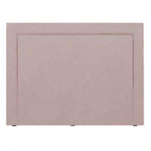 Tăblie de pat Mazzini Sofas Ancona, 180 x 120 cm, roz