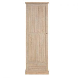 Șifonier cu ușă cu model de stejar Støraa Bruce
