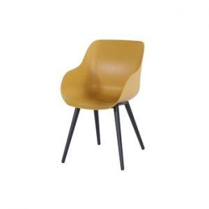 Set 2 scaune de grădină Hartman Sophie Organic Studio Chair, galben
