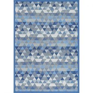 Covor reversibil Narma Luke Blue, 70 x 140 cm, albastru