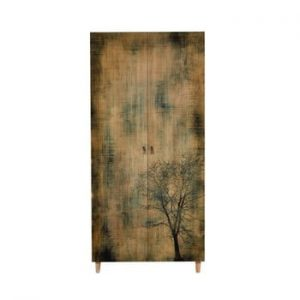 Șifonier din lemn Ursula Tree