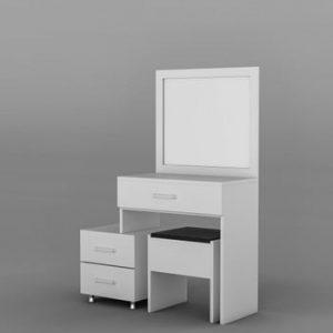 Masă de toaletă Alacati, alb