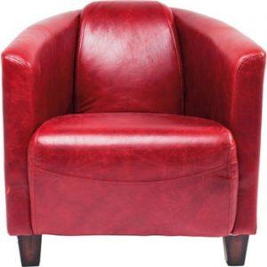 Fotoliu Kare Design Cigar Lounge, roşu