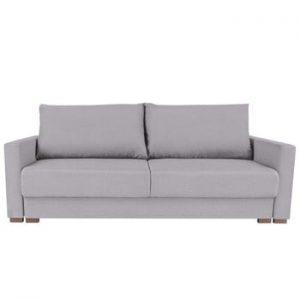 Canapea extensibilă cu 3 locuri Melart Giovanni, gri deschis