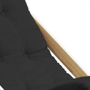 Scaun pliabil din lemn de fag Karup Design Boogie Dark Grey, 60 x 115 cm, gri