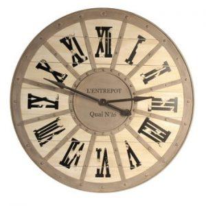 Ceas de perete Antic Line Quai, ⌀ 93 cm