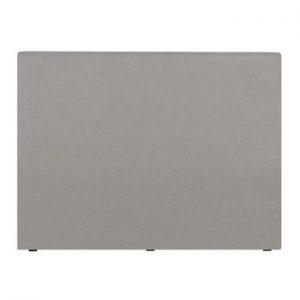Tăblie de pat Windsor & Co Sofas UNIVERSE, 160 x 120 cm, gri deschis