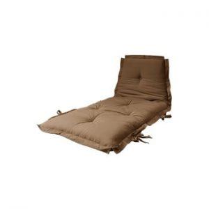 Futon/saltea pentru oaspeți Karup Design Sit & Sleep Mocca, 80 x 200 cm, maro coniac